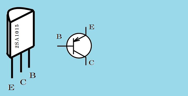 Transistörünün bacak bağlantısı